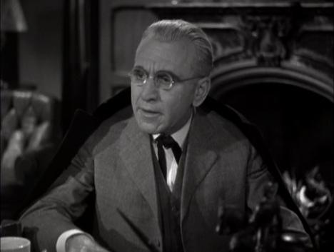 Il professor Van Helsing interpretato da E. Van Sloan nel storico film 'Dracula' del 1931