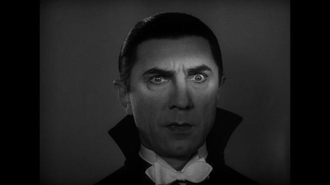 Il celebre conte Dracula interpretato dall'attore ungherese Bela Lugosi nel storico film 'Dracula' del 1931