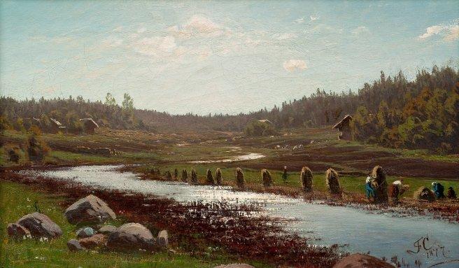 fanny churberg_paesaggio fluviale