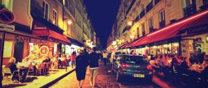 Il Quartiere Latino di Parigi, dove il Caffè Condé è idealmente situato