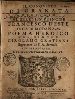 First_edition_(1650)_of_the_Epic_poem_written_by_Girolamo_Graziani_-ll_Conquisto_di_Granata-
